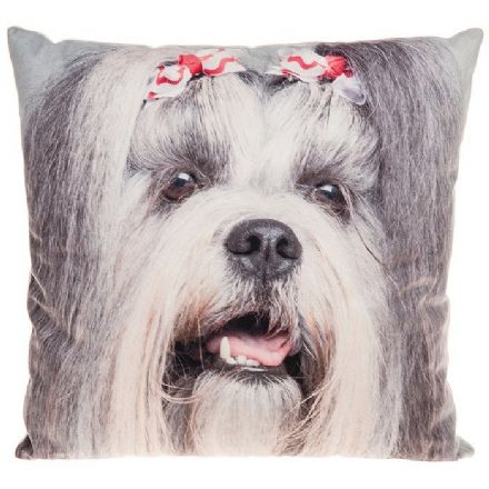 Shih Tzu Visage Large Cushion